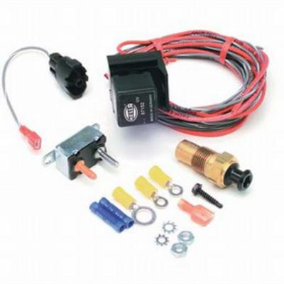 Painless Wiring Electric Fan Relay with Thermostat Protection - 30102