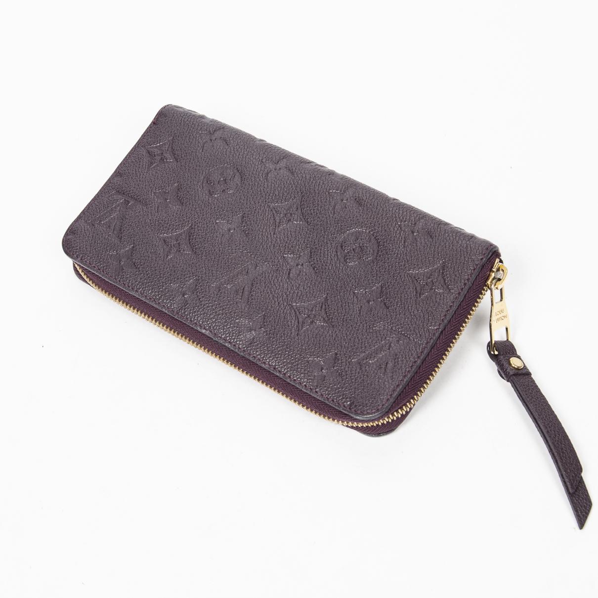 Louis Vuitton \N Purple wallet for Women \N
