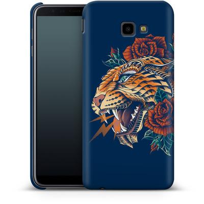 Samsung Galaxy J4 Plus Smartphone Huelle - Ornate Leopard von BIOWORKZ