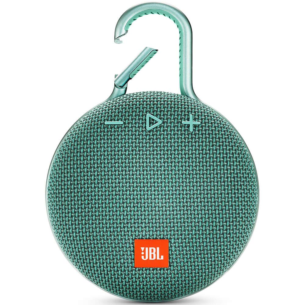 JBL Clip 3 Portable Waterproof Wireless Bluetooth Speaker, Teal