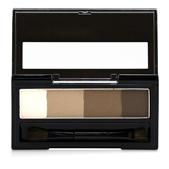 Heavy Rotation Waterproof Powder Eyebrow And 3d Nose - 02 Natural Brown