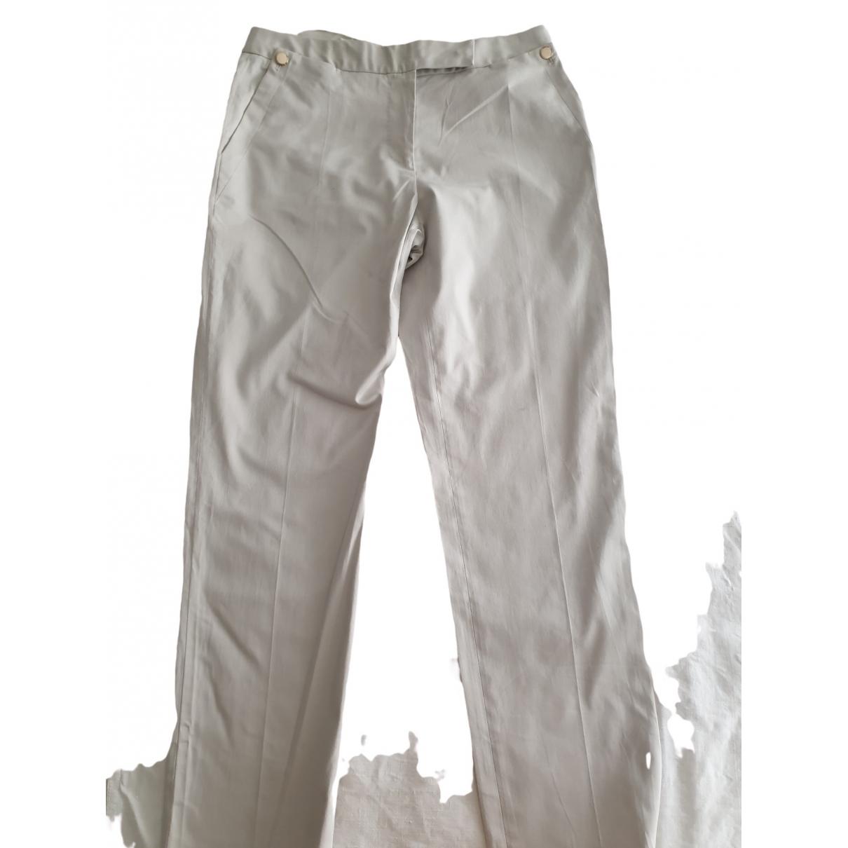 Paul Smith - Pantalon   pour femme en coton - beige