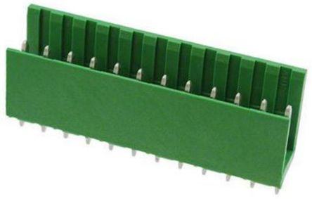 TE Connectivity , AMPMODU MOD I, 12 Way, 1 Row, Straight PCB Header (10)