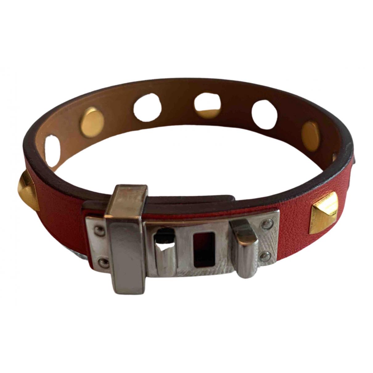 Hermes - Bracelet Mini Dog pour femme en cuir