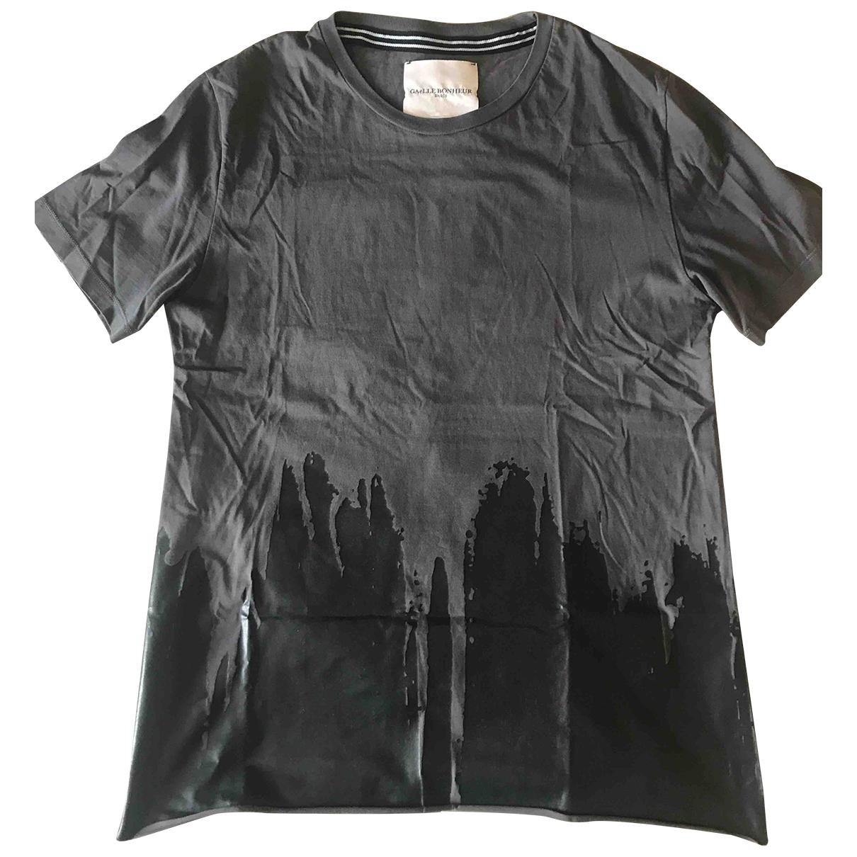Gaelle Paris \N Grey Cotton T-shirts for Men M International
