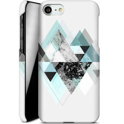 Apple iPhone 7 Smartphone Huelle - Graphic 110 - Turquoise von Mareike Bohmer