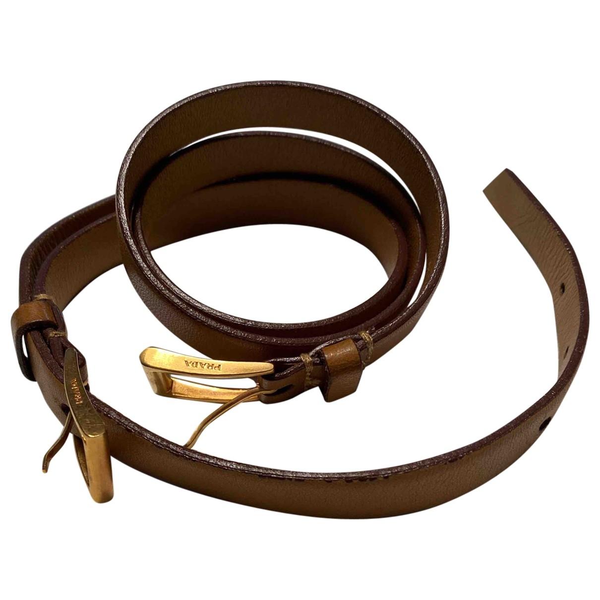 Cinturon de Cuero Prada