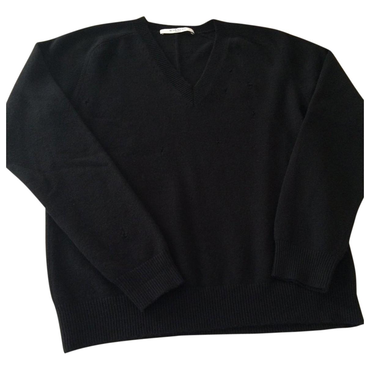 Givenchy \N Black Wool Knitwear & Sweatshirts for Men M