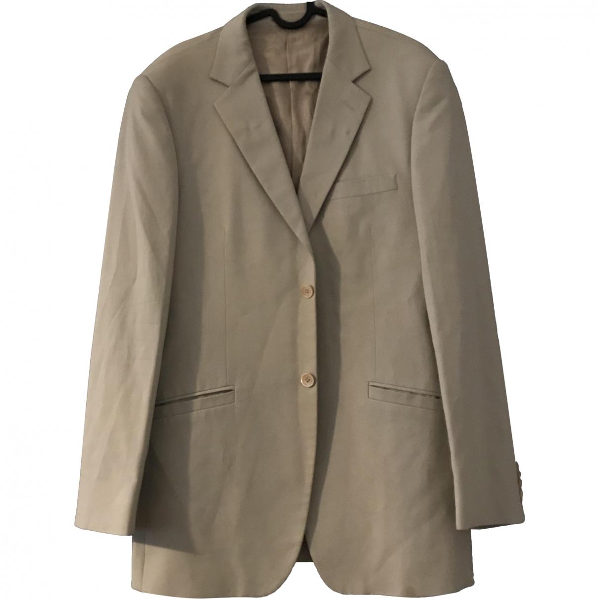 Versace \N Beige Cotton jacket  for Men 38 UK - US