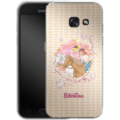 Samsung Galaxy A3 (2017) Silikon Handyhuelle - Bibi und Tina Abenteuer von Bibi & Tina