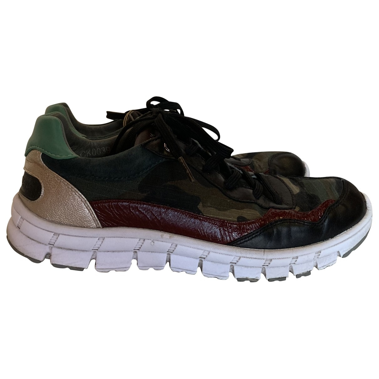 Dolce & Gabbana \N Multicolour Leather Trainers for Women 37 EU