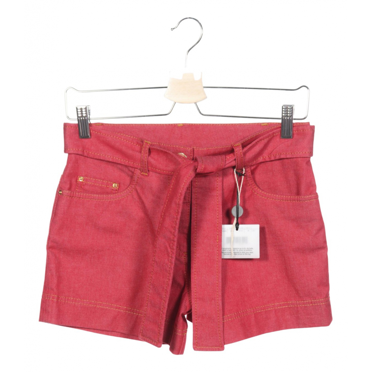 Moschino \N Shorts in  Rot Baumwolle
