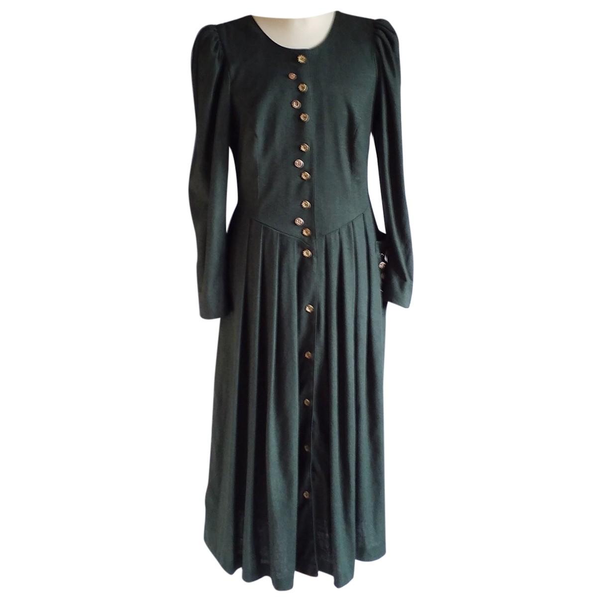 Autre Marque N Green dress for Women 44 FR