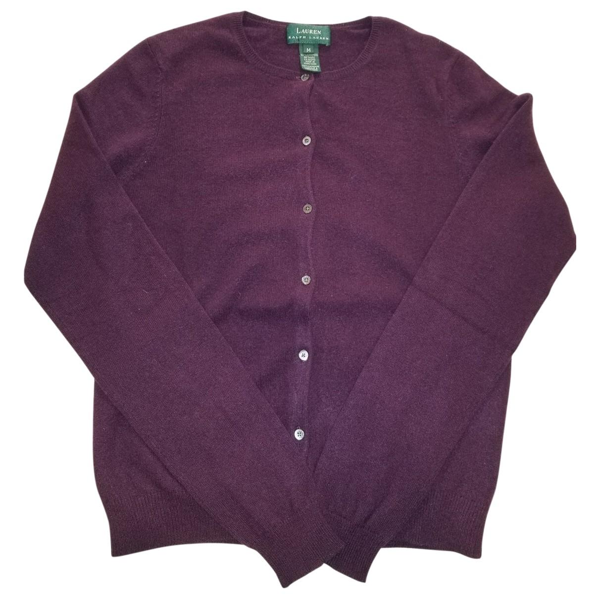 Ralph Lauren \N Pullover in  Lila Kaschmir
