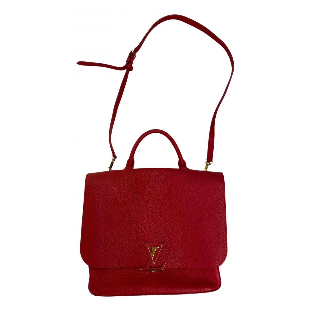 Louis Vuitton - Sac a main Volta pour femme en cuir - rouge