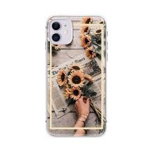 1 Stueck iPhone Etui mit Blumen & Schmetterling Muster