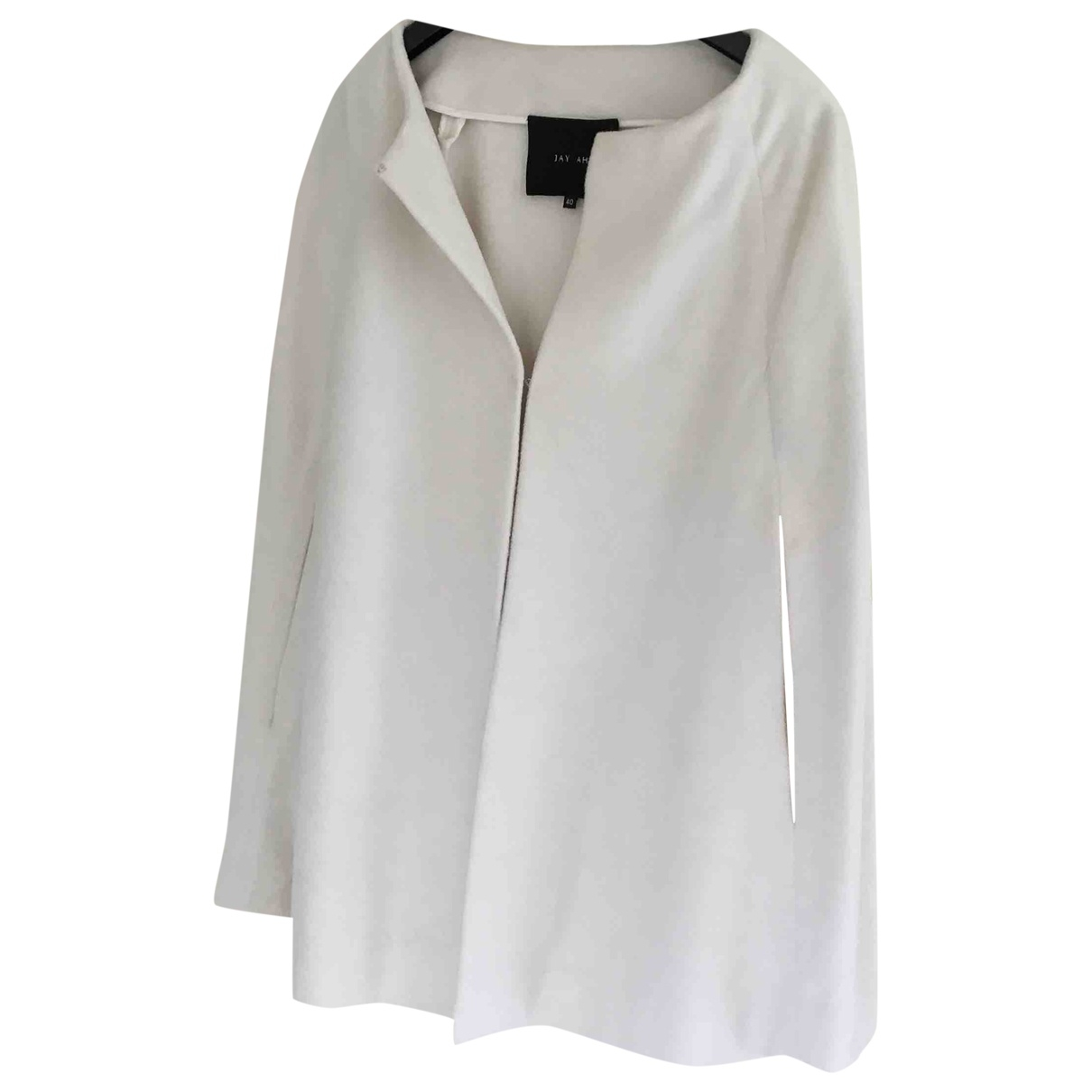 Jay Ahr \N White Wool jacket for Women 40 FR