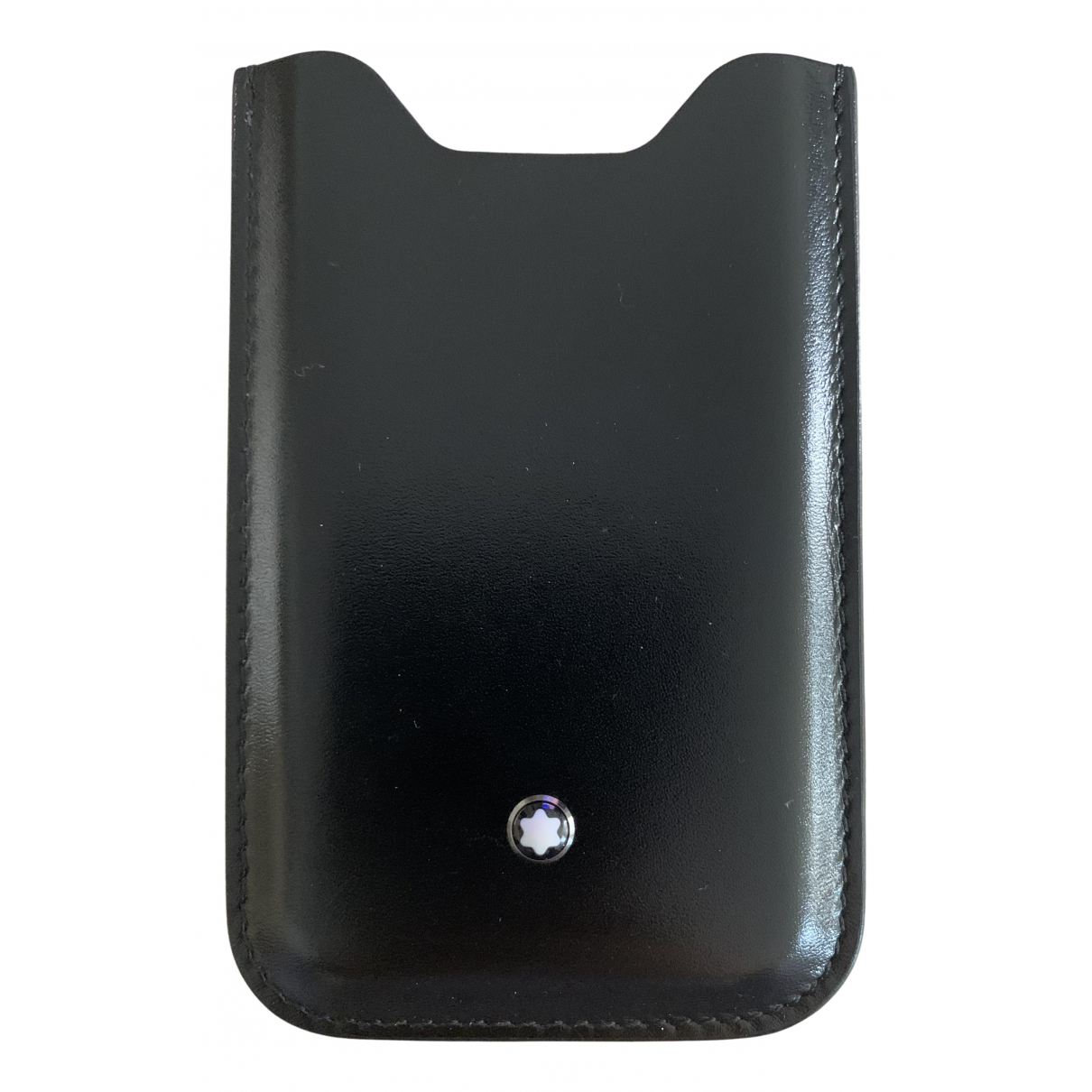 Montblanc N Black Leather Purses, wallet & cases for Women N