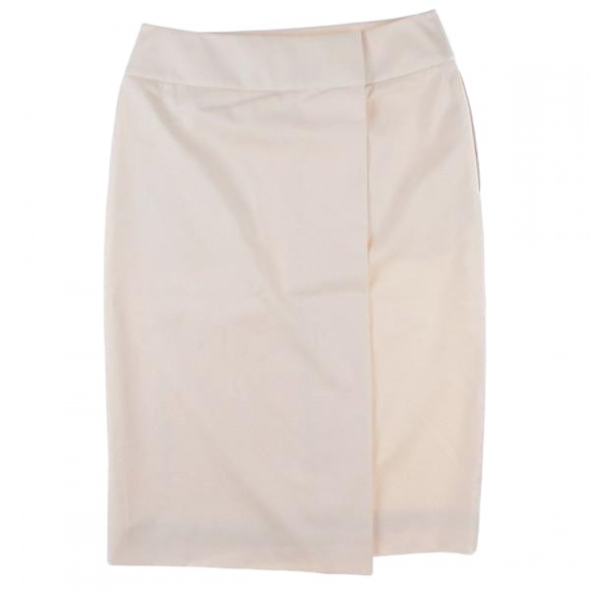 Hermès \N White Wool skirt for Women 34 FR