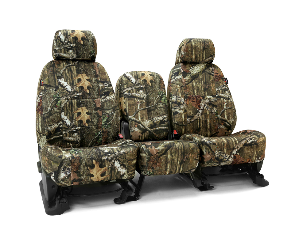 Coverking CSCMO02RM1038 Skanda Custom Seat Covers 1 Row Neosupreme Mossy Oak Break Up Infinity Solid Front Ram 1500 2012