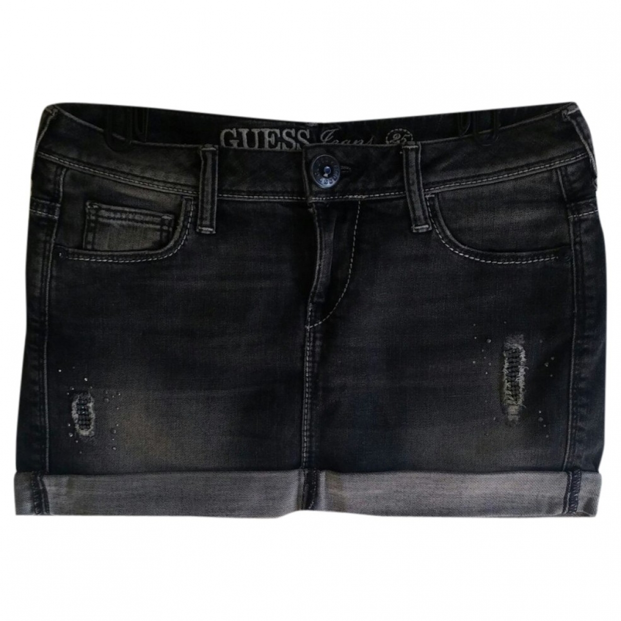 Guess \N Rocke in  Grau Denim - Jeans
