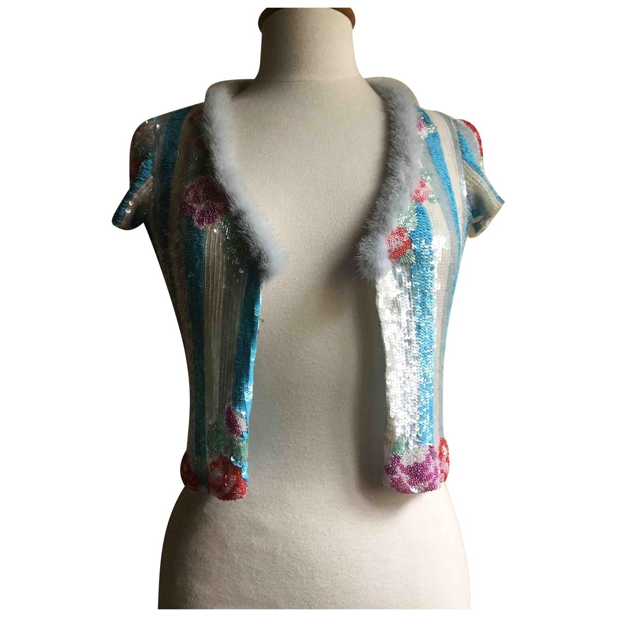 Blumarine - Pull   pour femme - multicolore