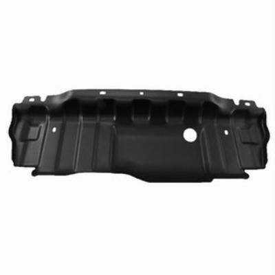 Jeep Front Bumper Close Out Panel Skid Plate (Black) - 82214330