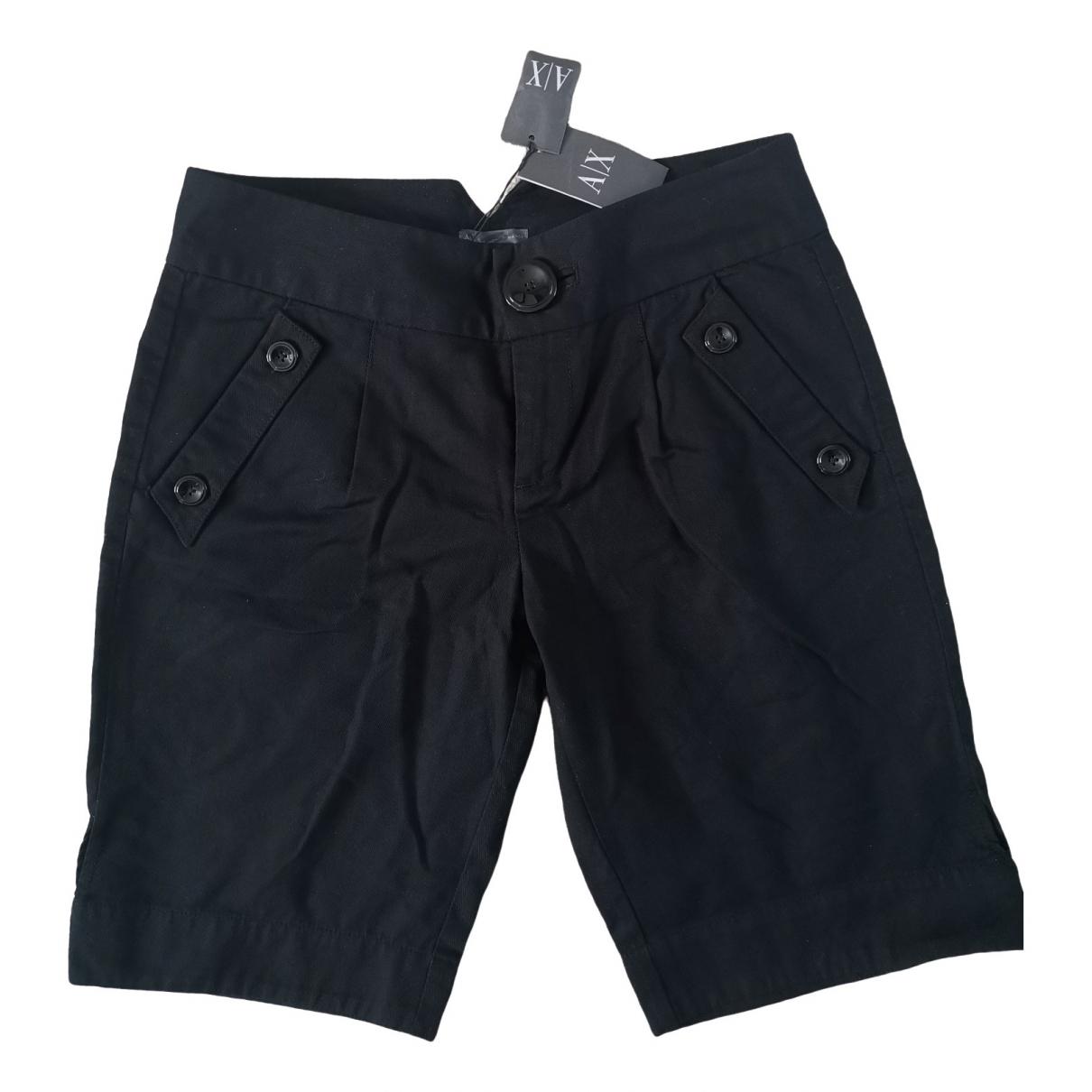 Emporio Armani \N Shorts in  Schwarz Baumwolle