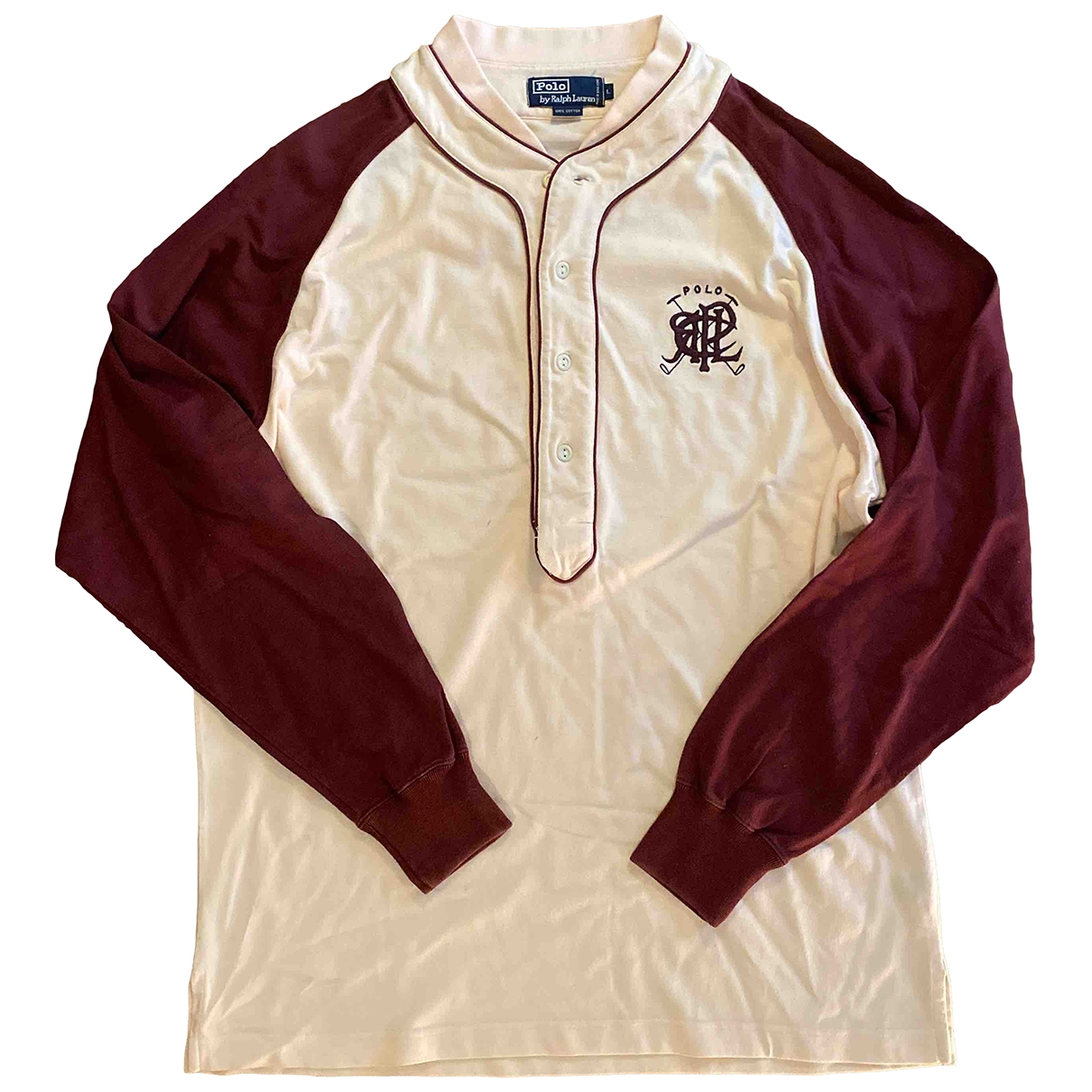 Polo Ralph Lauren \N Pullover.Westen.Sweatshirts  in  Bordeauxrot Baumwolle