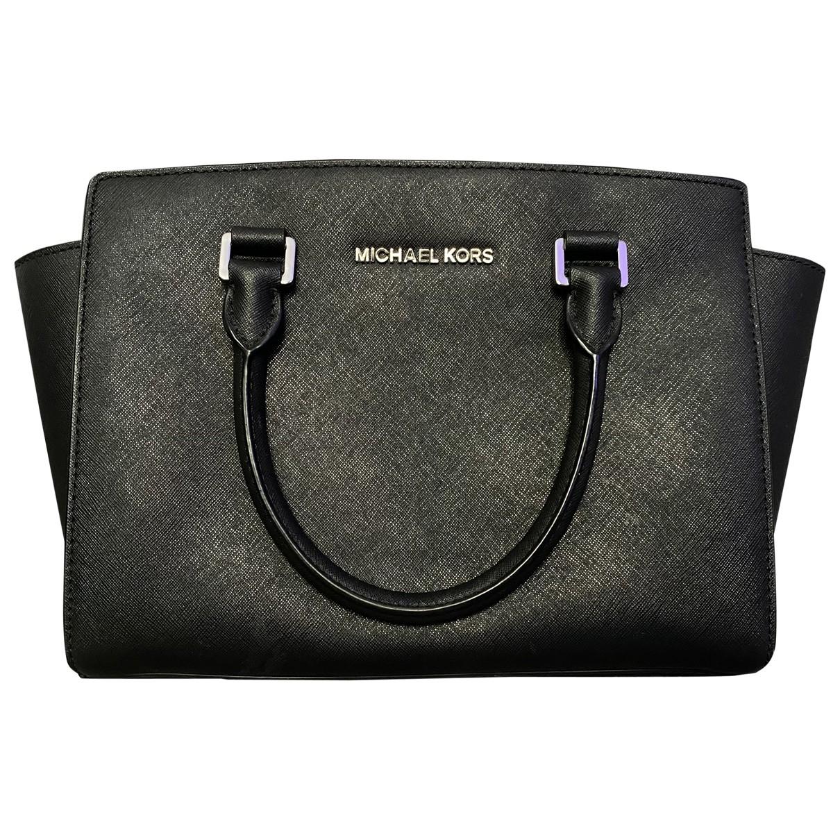 Michael Kors Selma Black Leather handbag for Women \N