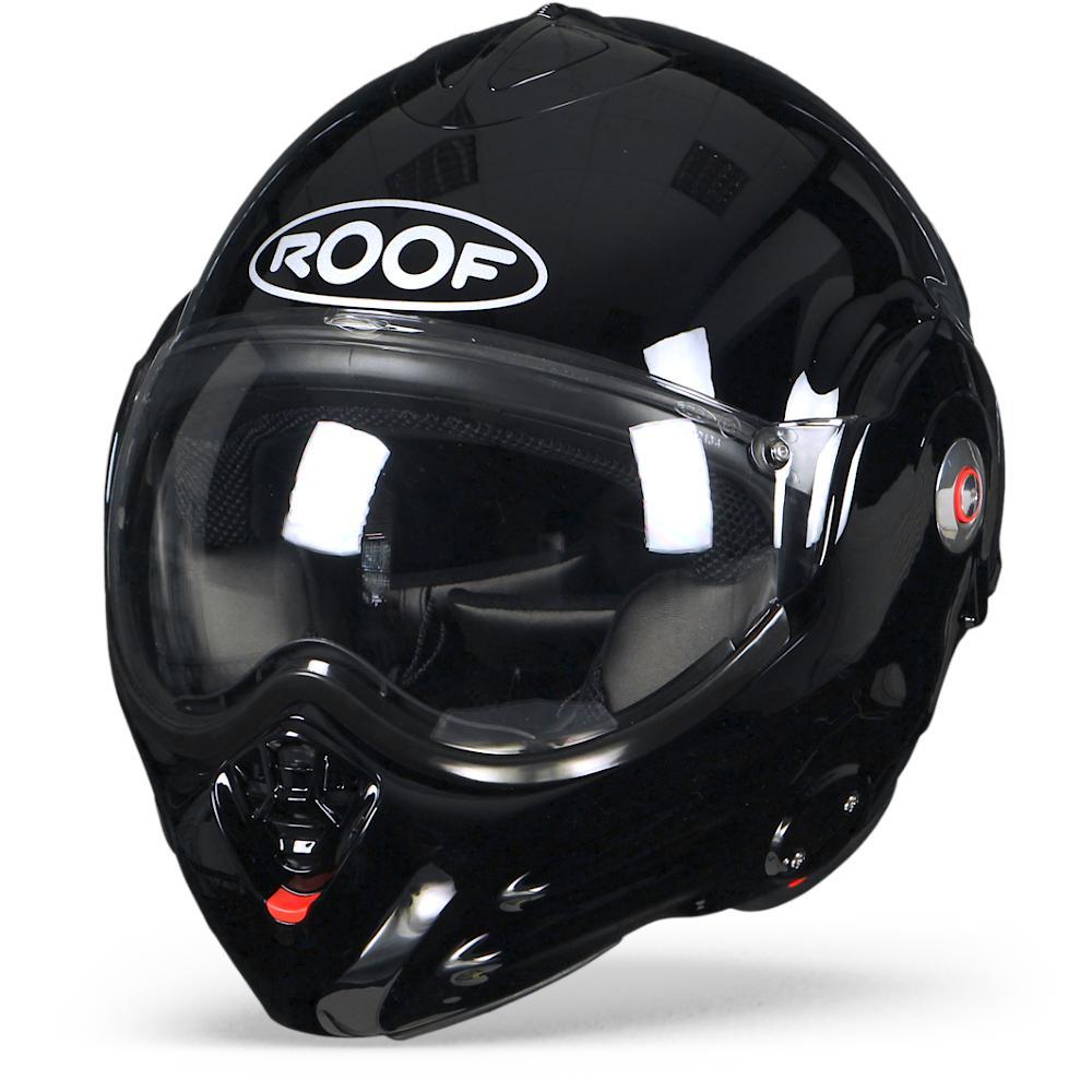ROOF Desmo Casque De Moto Modulable Noir S