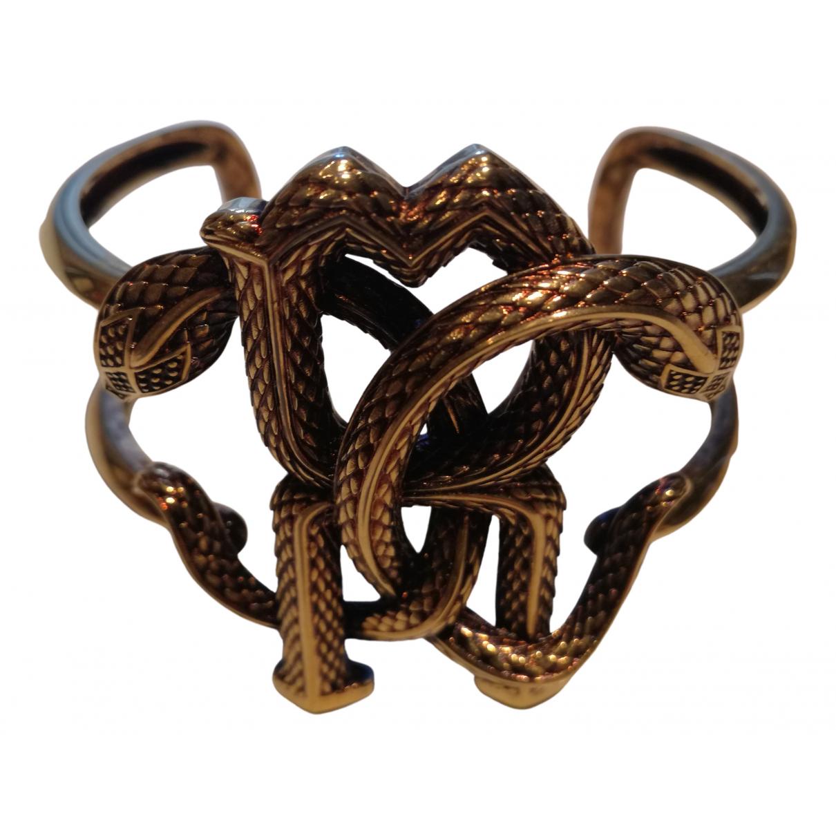 Roberto Cavalli N Gold Metal bracelet for Women N