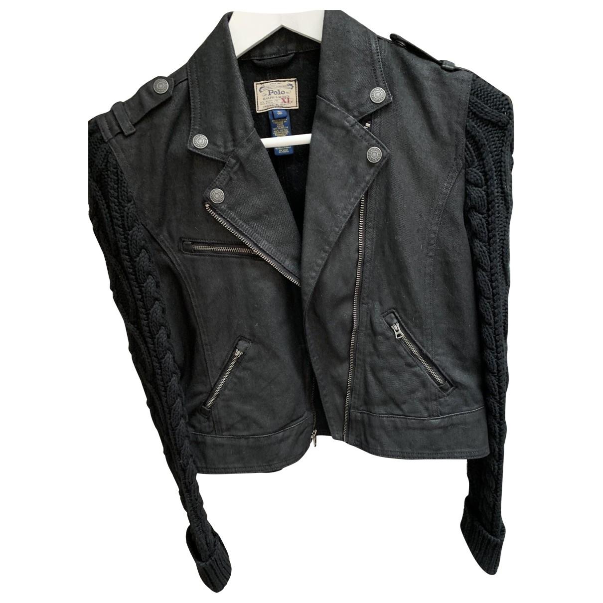 Polo Ralph Lauren \N Jacke in  Schwarz Denim - Jeans