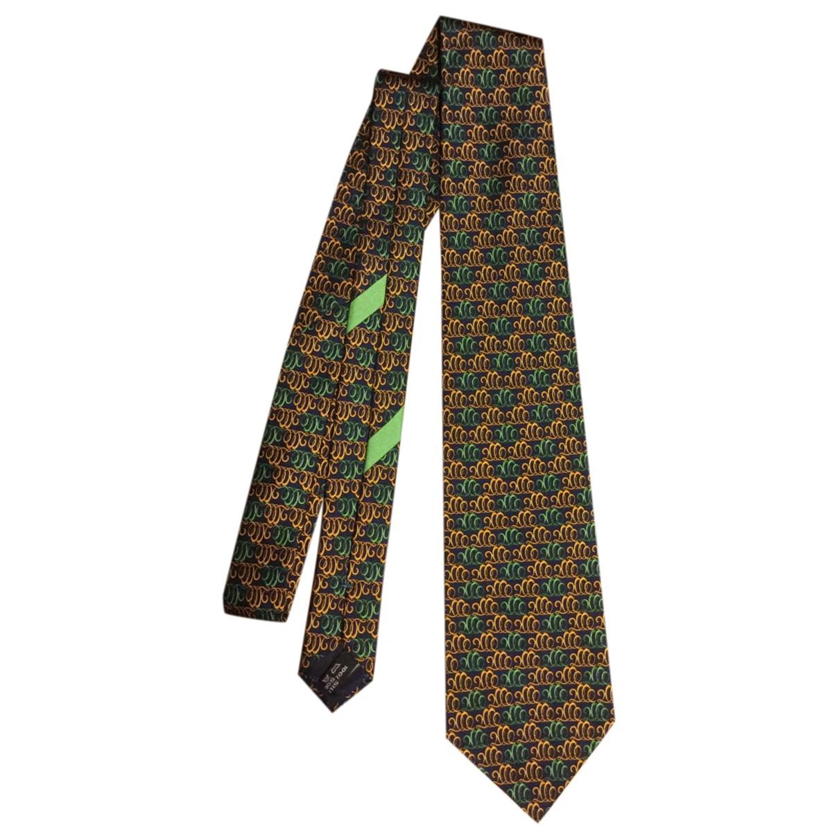 Salvatore Ferragamo \N Krawatten in  Bunt Seide