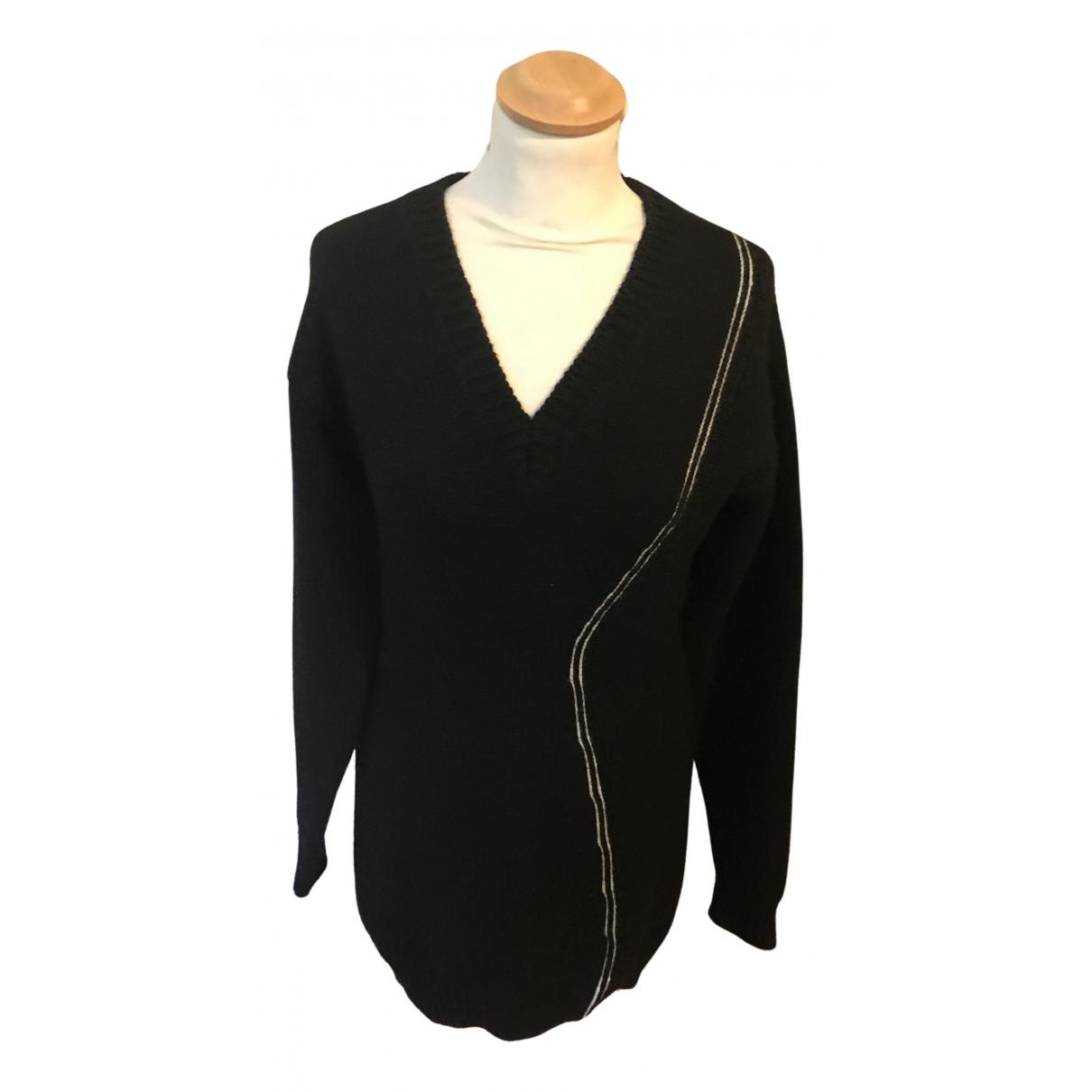 Yohji Yamamoto N Black Wool Knitwear for Women S International