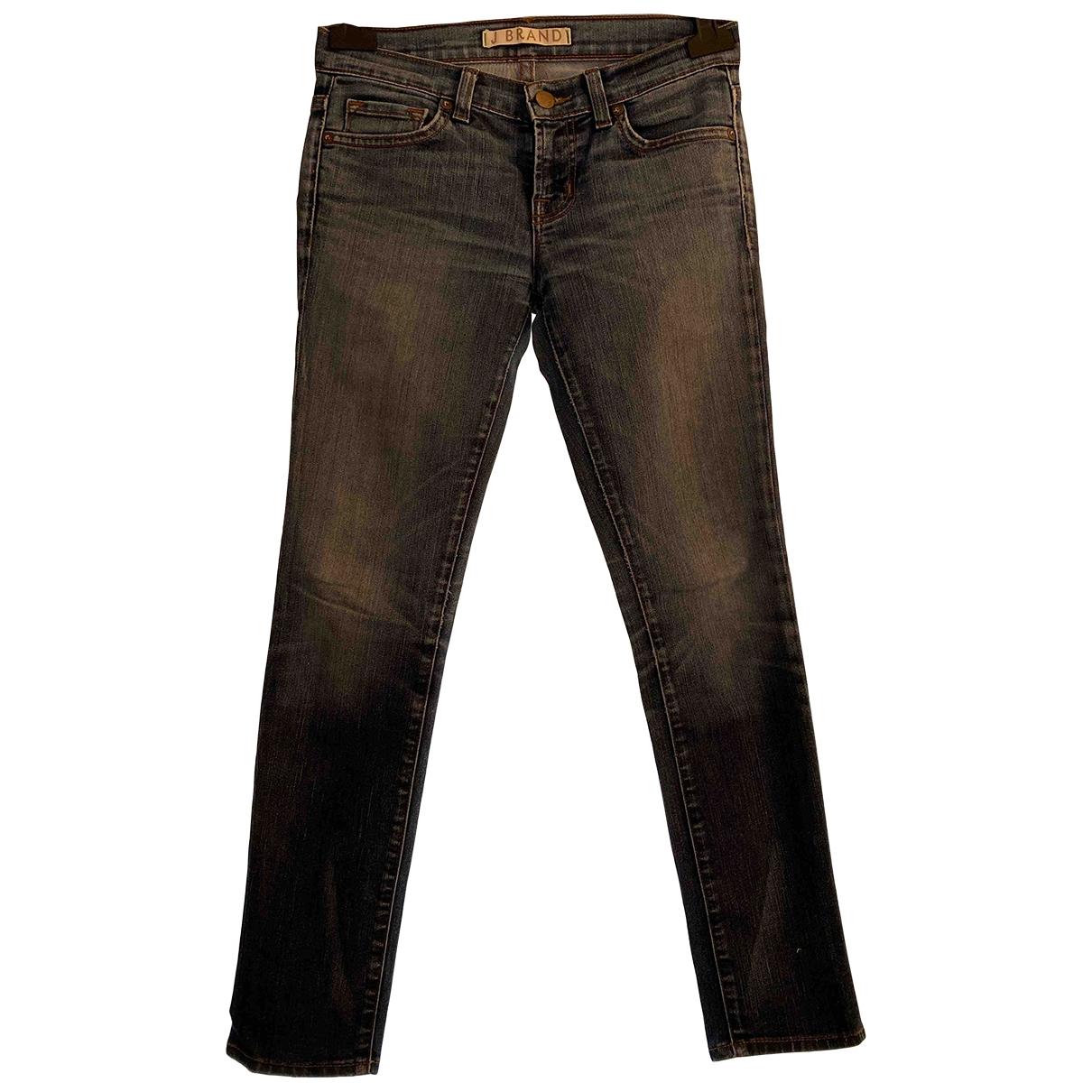 J Brand \N Blue Cotton - elasthane Jeans for Women 25 US