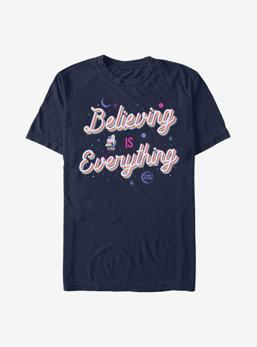 Over The Moon Believing T-Shirt