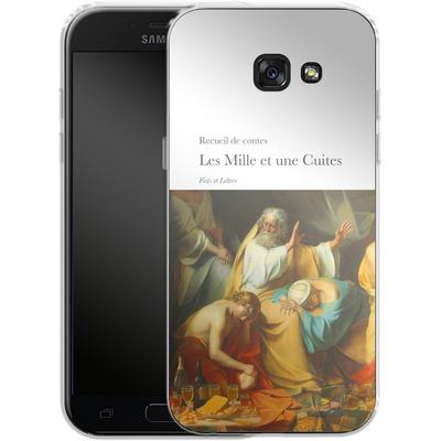 Samsung Galaxy A5 (2017) Silikon Handyhuelle - Mille Et Une Cuites von Fists Et Lettres