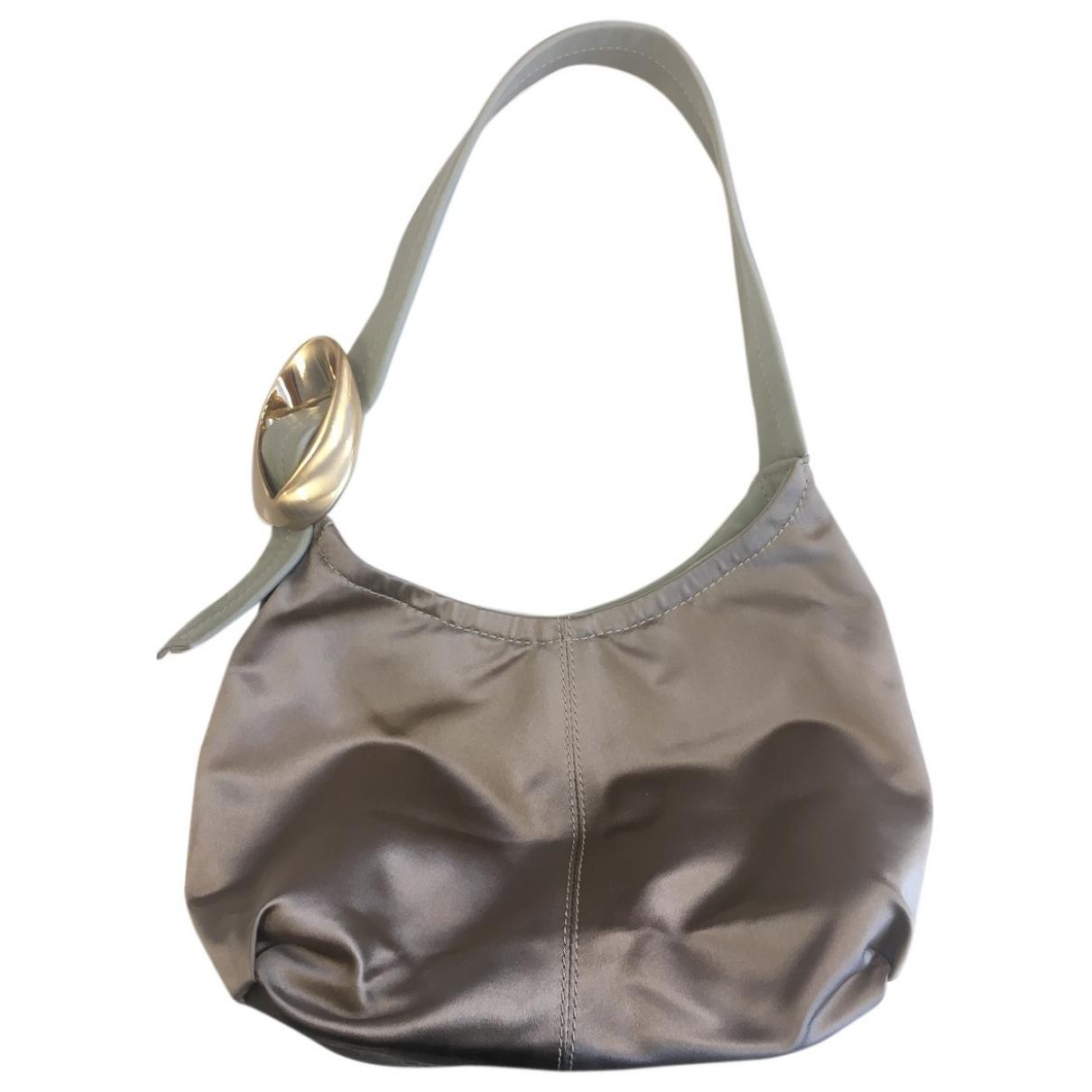Max Mara \N Metallic Silk handbag for Women \N