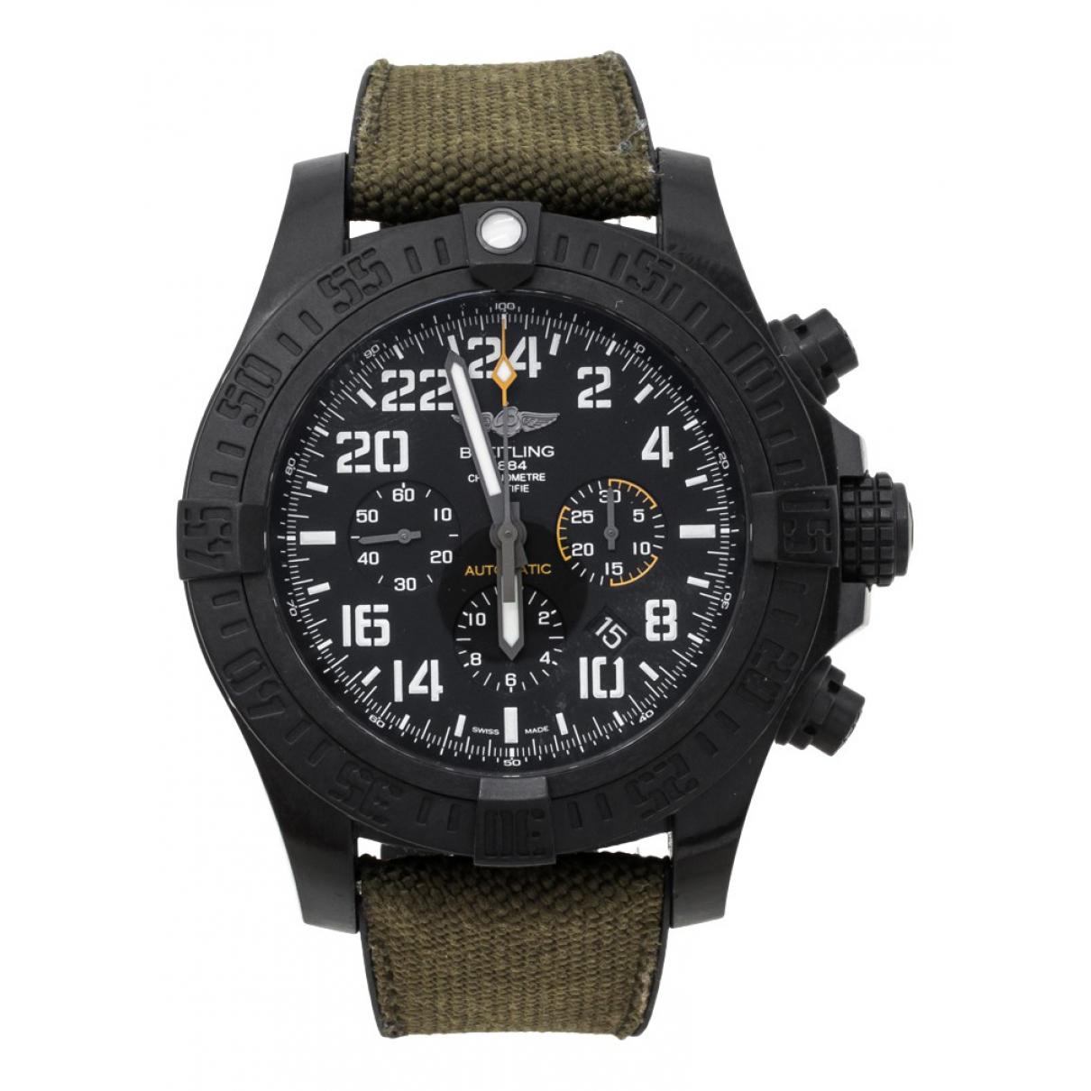 Breitling Avenger Uhr Schwarz