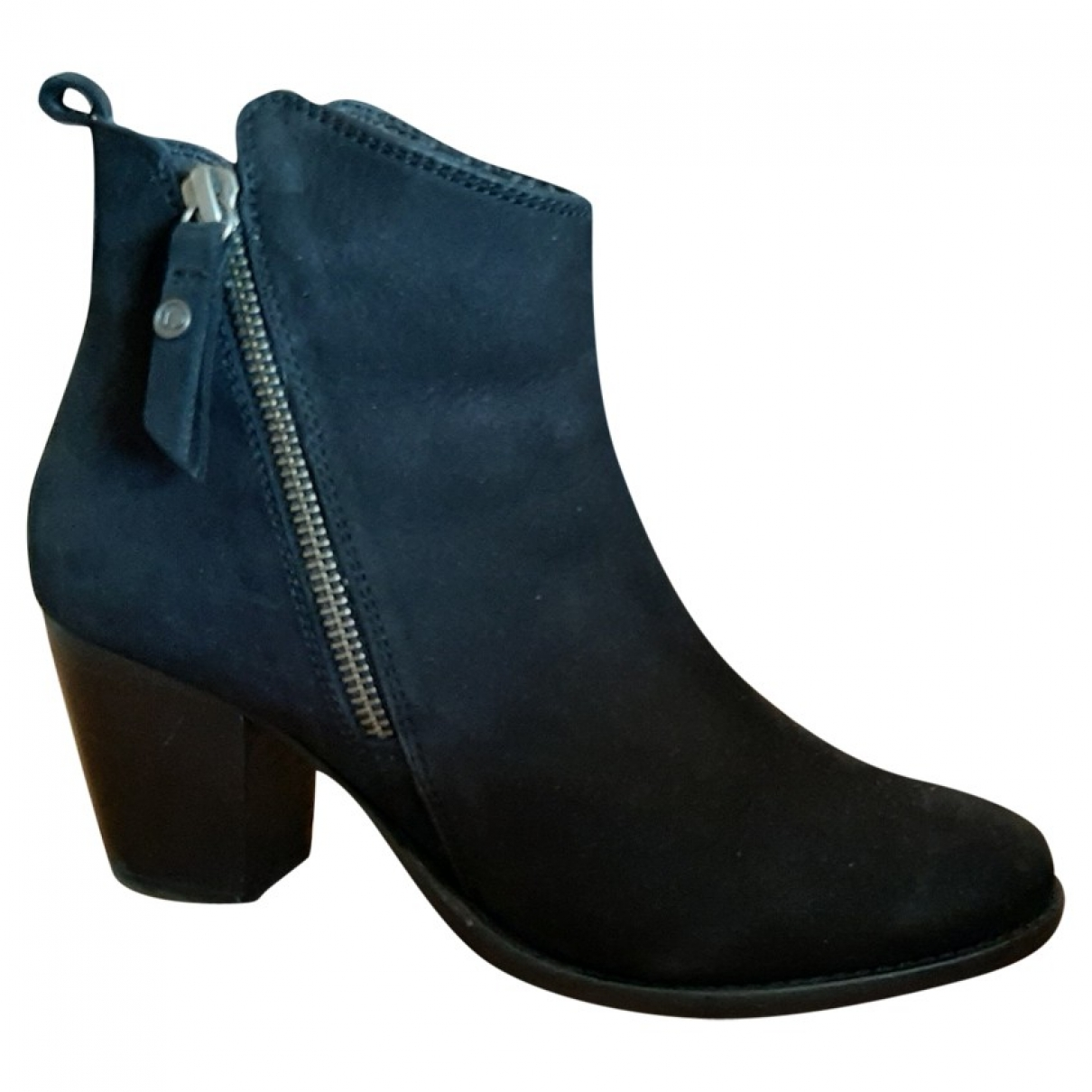 Dune \N Black Leather Boots for Women 39 EU