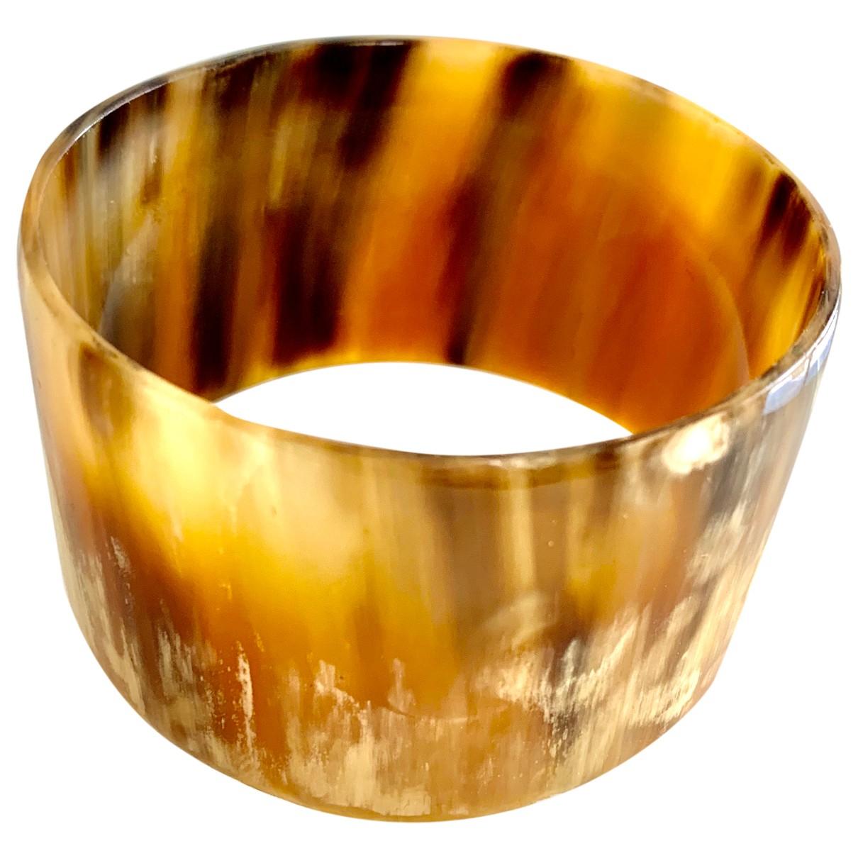 - Bracelet   pour femme en corne - camel