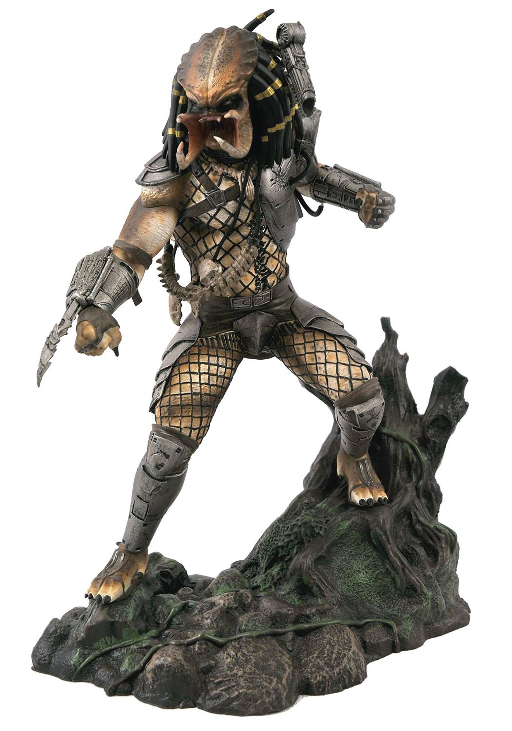 SDCC 2020 Predator, Gallery Unmasked PVC Statue