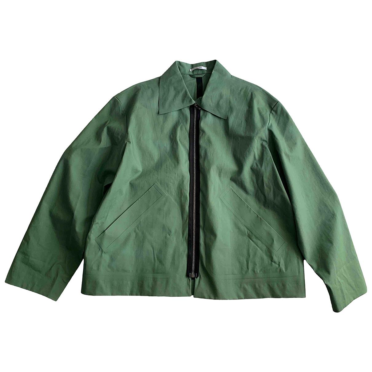 Carven \N Jacke in  Gruen Polyester