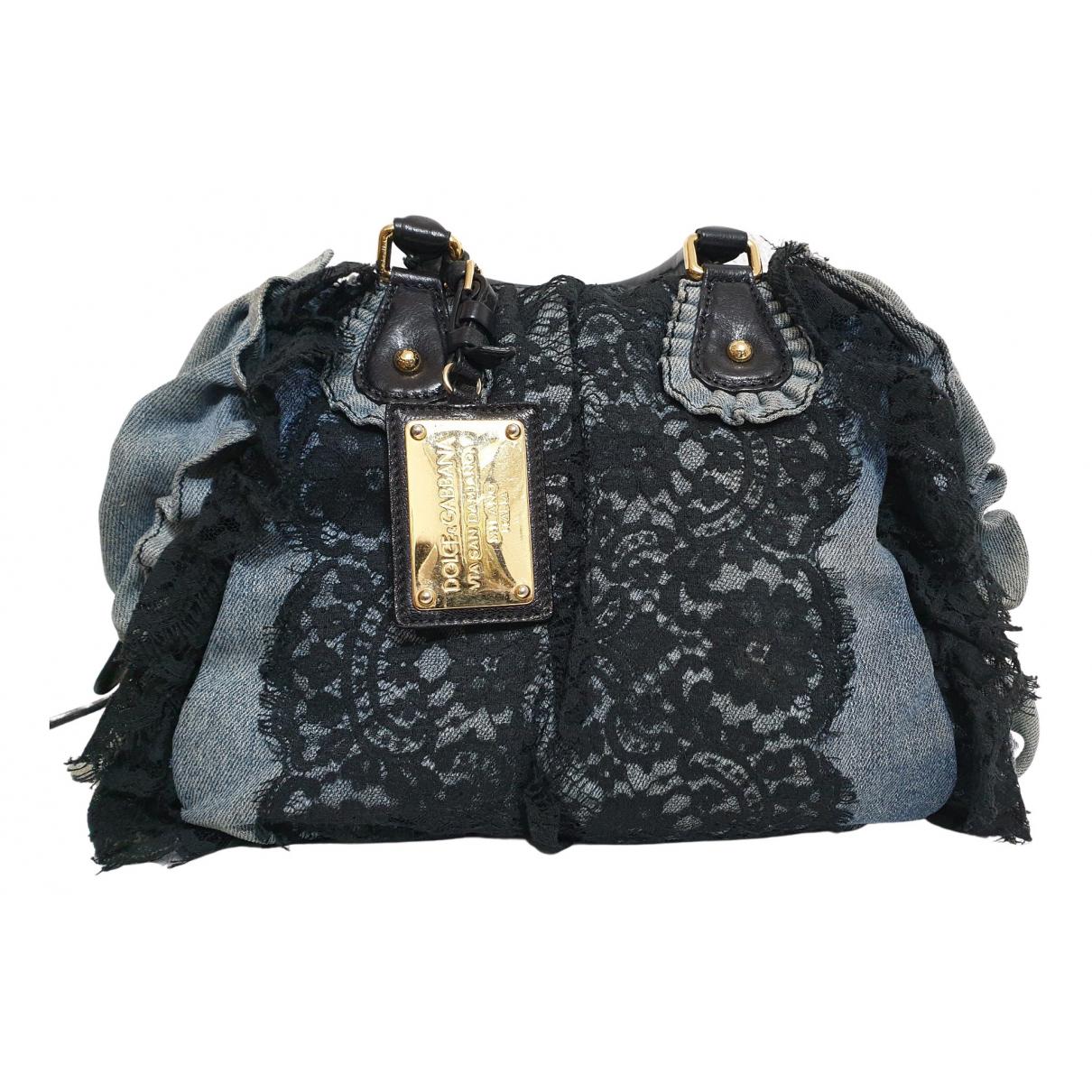 Dolce & Gabbana N Blue Denim - Jeans handbag for Women N