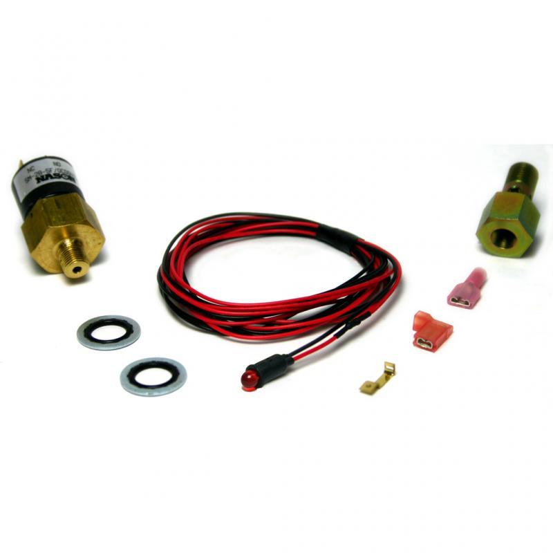 BD Diesel 1081130 BD 5.9L Cummins Low Fuel Pressure Light & Alarm Kit Dodge 1998-2007 24-valve Dodge