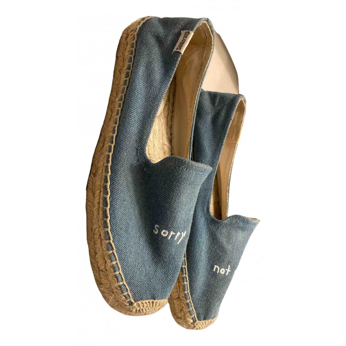 Soludos \N Espadrilles in  Blau Denim - Jeans