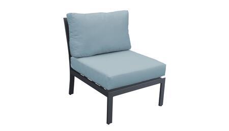 TKC067b-AS-SPA Armless Chair - Ash and Spa