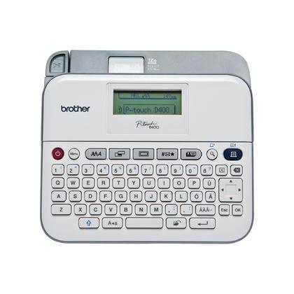 Brother P-touch@ PT-D400AD etiqueteuse polyvalente avec adaptateur secteur
