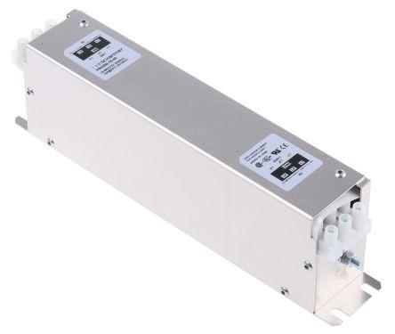 Schaffner , FN 3258 16A 480 V ac 60Hz, Flange Mount RFI Filter, Screw